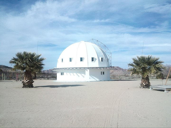 Integratron_with_trees